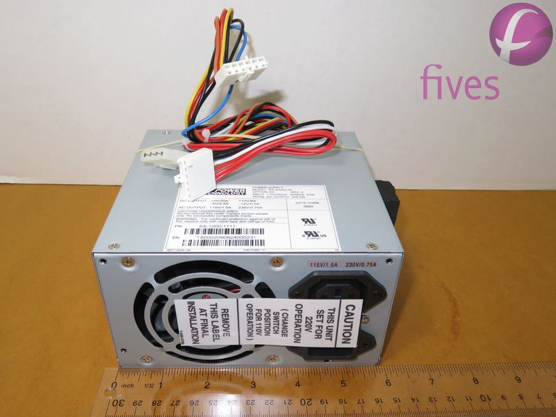 POWER SUPPLY; 5V - 350 WATT
